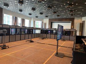 Dolmetscherkabinen Technik Hub